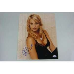 Kaley Cuoco The Big Bang Theory Signed 11x14 Photo Psa   Sports