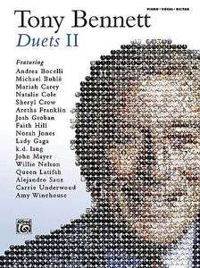 TONY BENNETT   DUETS II PIANO/VOCAL/GUITAR SONGBOOK 038081433820