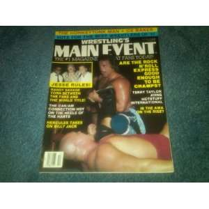 Main Event Magazine October 1987 (Macho Man Randy Savage, Terry