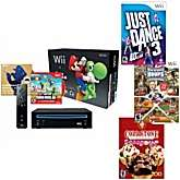 Nintendo Wii New Super Mario Bros. 4 Game Bundle