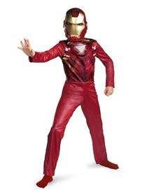 Iron Man 2 Movie Iron Man Mark IV Child Costume $24.99