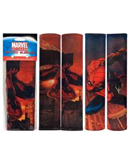The officially licensed Marvel Comics Spiderman tattoo sleeves are