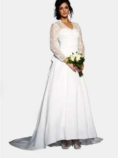 Lace Long Sleeve Wedding Dress Very.co.uk