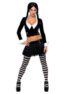 Movie Costumes Addams Family Costumes Sexy Wednesday Addams Costume