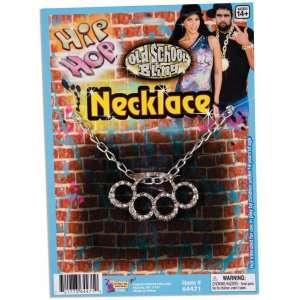 Hip Hop Knuckle Necklace, 69493