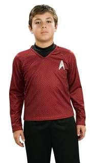Deluxe Kids Star Trek Red Shirt Costume   Star Trek Costumes