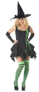 Super Deluxe Black Magic Witch Costume   Sexy Witch Costumes