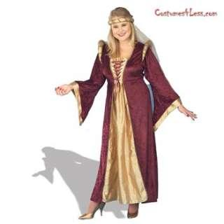 Renaissance Queen Plus Adult Costume