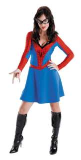 Spidergirl Classic Adult   This costume includes dress and eye mask