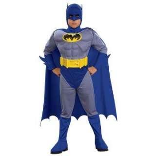 Batman Brave & Bold Deluxe M/C Batman Toddler/Child Costume   Includes