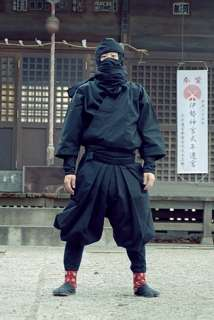 Premium Japanese NINJA WARRIOR Cosplay Costume Uniforn