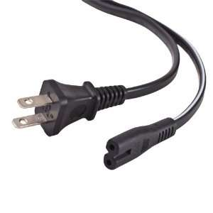 CE Compass 2 Prong AC Power Cord Cable Plug For Canon