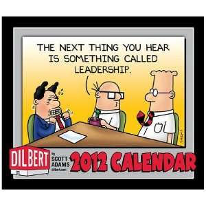 (2012 Calendar) Dilbert Page A Day 2012 Desk Calendar By