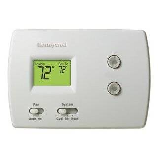 Pump/Single Stage 1 Heat/1 Cool Digital Non Programmable Thermostat