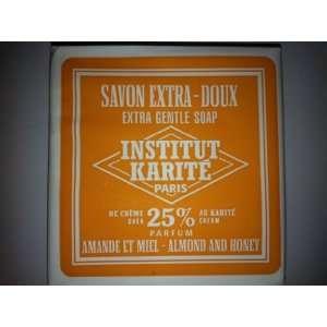 Karite Paris Extra Gentle Soap 25 % Shea Butter 3.4 oz Almond Honey