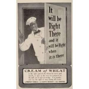 1905 ORIG Ad Cream of Wheat Rastus Chef Black Americana   Original