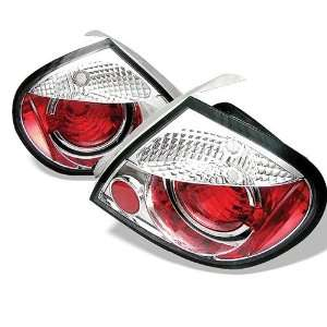 Lights + Hi Power White LED Backup Lights   Chrome (Pair) Automotive