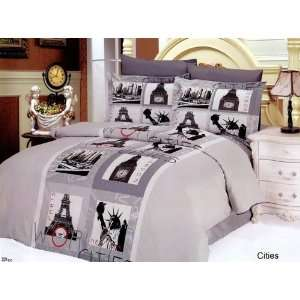 Bed in Bag Full Queen Bedding Gift Set By Arya Bedding Home & Kitchen