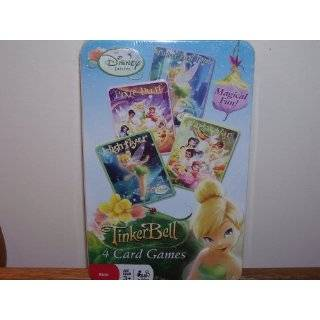 Disney Fairies 4 in 1 Card Game Set High Flyers, Pixie Dust