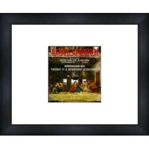 BLACK SABBATH Last Supper Millennium Party   Custom Framed