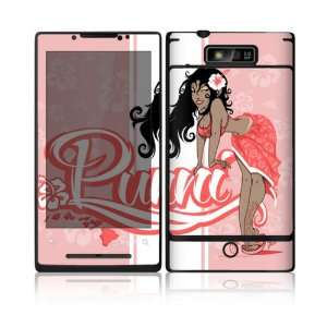 Puni Doll Pink Design Decorative Skin Cover Decal Sticker