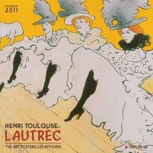 Henri Toulouse Lautrec Art Wall Calendar 2011