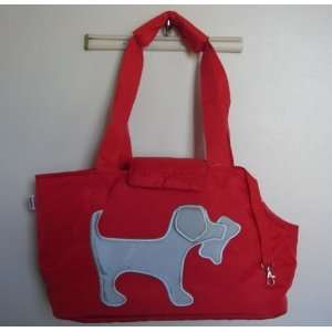 Dog Puppy/Cat Pet Travel Carrier Bag, Red
