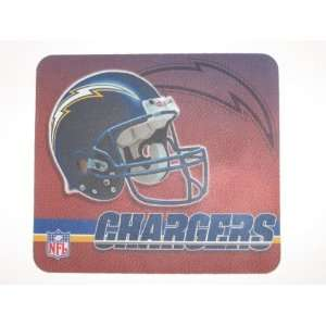 SAN DIEGO CHARGERS Team Logo 9 x 8 Computer MOUSEPAD
