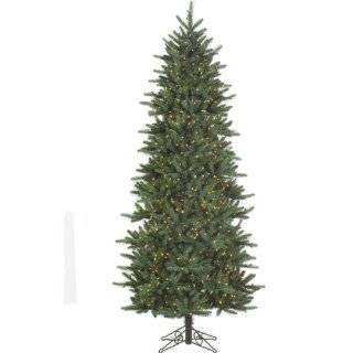 Lit Slim Newport Mixed Pine Artificial Christmas Tree   Clear Lights