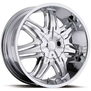 Platinum Cloak 18x8 Chrome Wheel / Rim 5x110 & 5x115 with