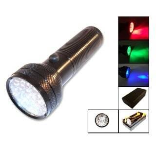 Brinkmann LED Multi Color Aluminum Flashlights 2 Pieces