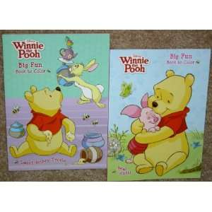 Friends Coloring Books & Winnie the Pooh Crayons Set A Toys & Games