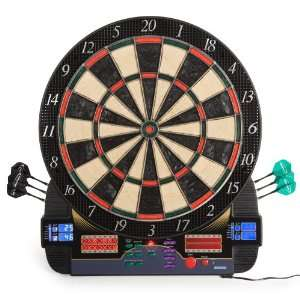 Halex Synergy BristleTech Steel/Soft Tip Electronic Dart Board with