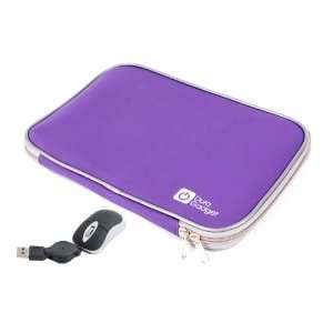 Laptop Zip Case With USB Mini Mouse (Fits Acer Aspire S3, Dell
