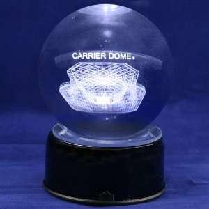 Syracuse Orange Football Stadium 3D Laser Globe:  Sports