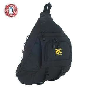 Luggage Iowa Hawkeyes Black Sling Bag