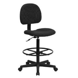 Flash Furniture BT 659 BLK GG Black Patterned Fabric Multi