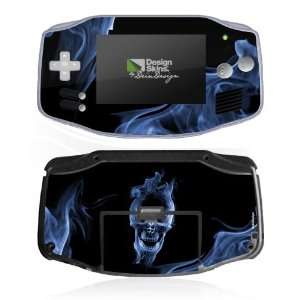 Design Skins for Nintendo Game Boy Advance   Smoke Skull