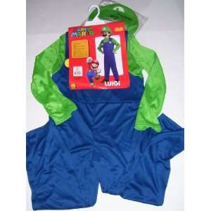Super Mario Child Costume Size L 12 14 for Age 8 10 Toys & Games