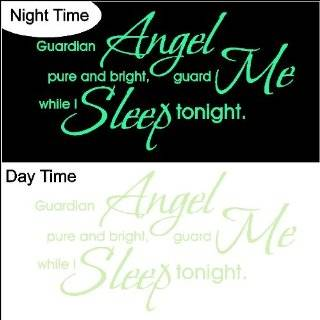 Glow in the Dark Goodnight My Love.Nursery Wall Decal Words Quotes