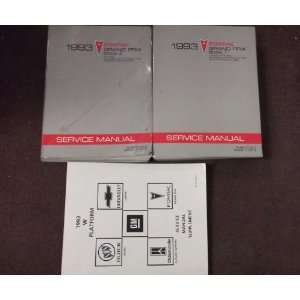 OEM BOOKS (2 volume set, and the service manual supplement) gm Books