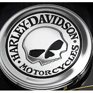 Harley Davidson Willie G Skull Fuel Cap Cover Medallion