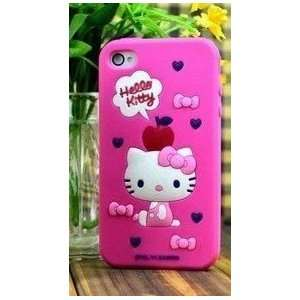 New Cute Hello Kitty Style iPhone 4G/4S Case/Cover