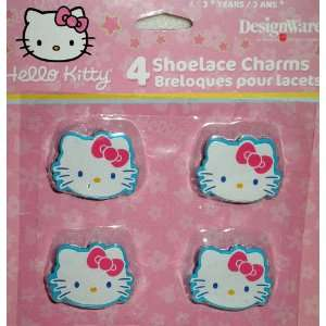 Hello Kitty Shoelace Charms Party Favor, 4/pkg. Toys