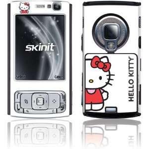 Hello Kitty Classic White skin for Nokia N95 3