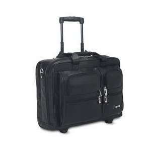 15.4 Leather Rolling Case Blk Electronics