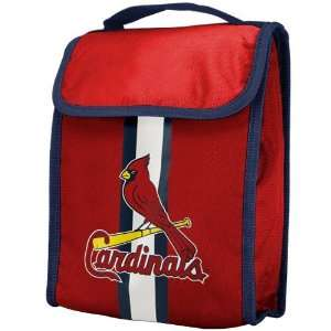 St. Louis Cardinals Red Insulated MLB Lunch Bag  Sports