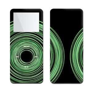 Black (Green Swirl Black)   Apple iPod nano 1G (1st Generation