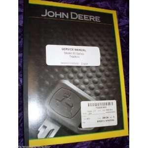 John Deere 50 Series Tractor OEM Service Manual John Deere Books
