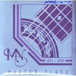 Newtone Acoustic Guitar Master Class Nickel, .011   .050